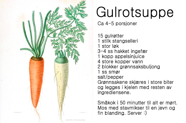 Gulrotsuppess